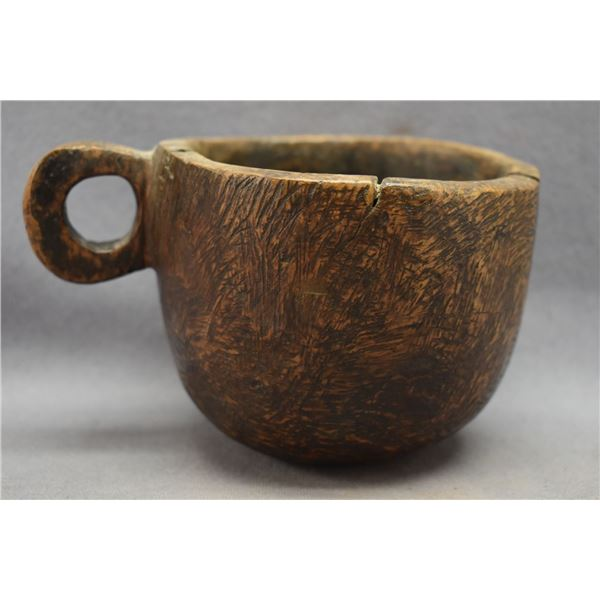 WOODLANDS INDIAN BURL WOOD CUP