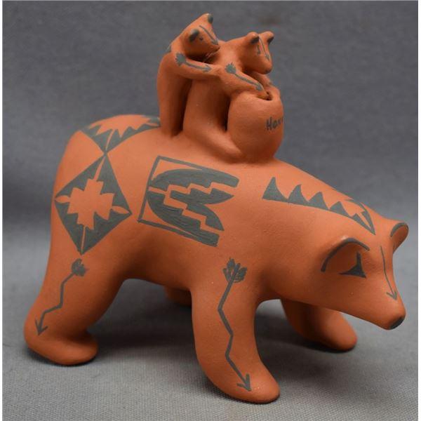 JEMEZ INDIAN POTTERY BEAR (I PECOS)