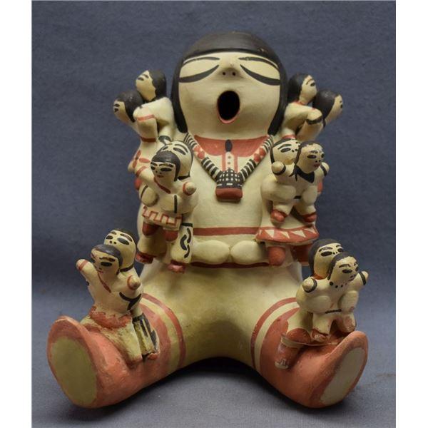 COCHITI  INDIAN POTTERY STORY TELLER