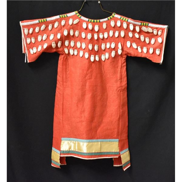 SIOUX INDIAN CHILD'S DRESS