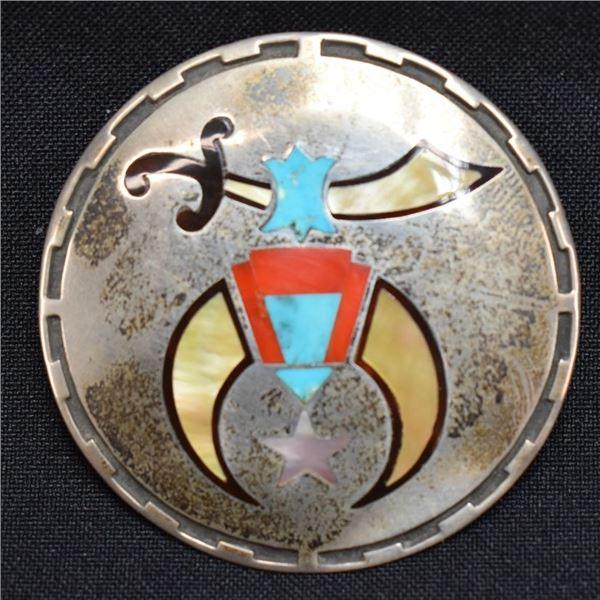 ZUNI INDIAN BOLO