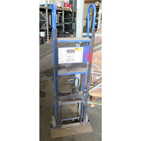 Metal Industrial Two-In-One Appliance Cart Hand Truck