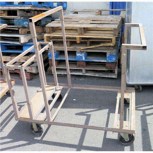 Rolling Metal Moving Cart