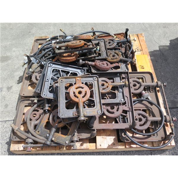 Various Single Burner Pieces