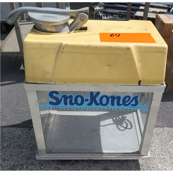 Gold Medal Products Sno-Kones Deluxe SnoKonette Model 1002