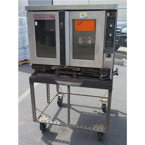 Blodgett Zephaire Single Deck Gas  Mobile Convection Oven