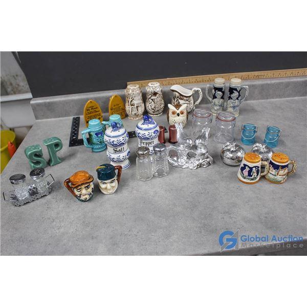 Salt & Pepper Shaker Collection