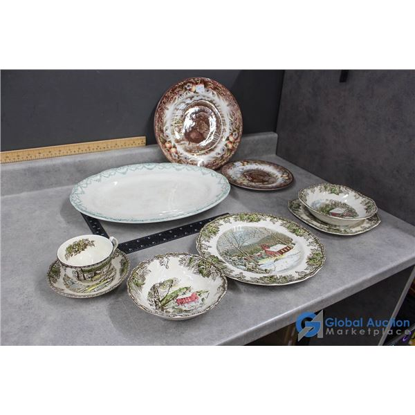Made in England Assorted Dishes - The Victorian English Pottery, Johnson Bros