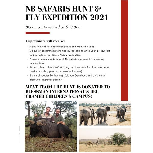 Join NB Safaris for a 'Hunt and Fly' Expedition!