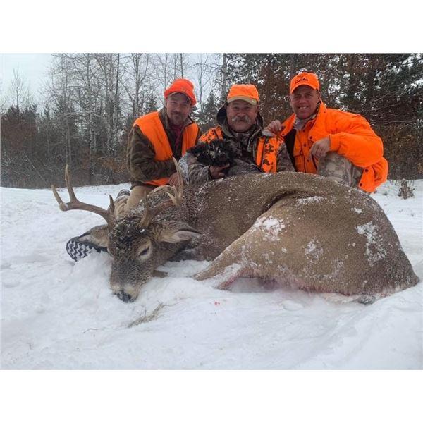 5-Day Northern Wisconsin Free Range Northeastern Whitetail Rifle Hunt