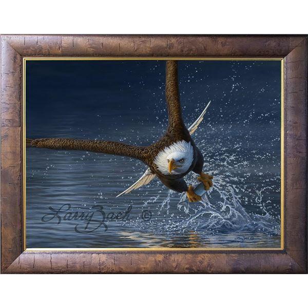 "Original Painting – ""Mission Accomplished – American Bald Eagle"""