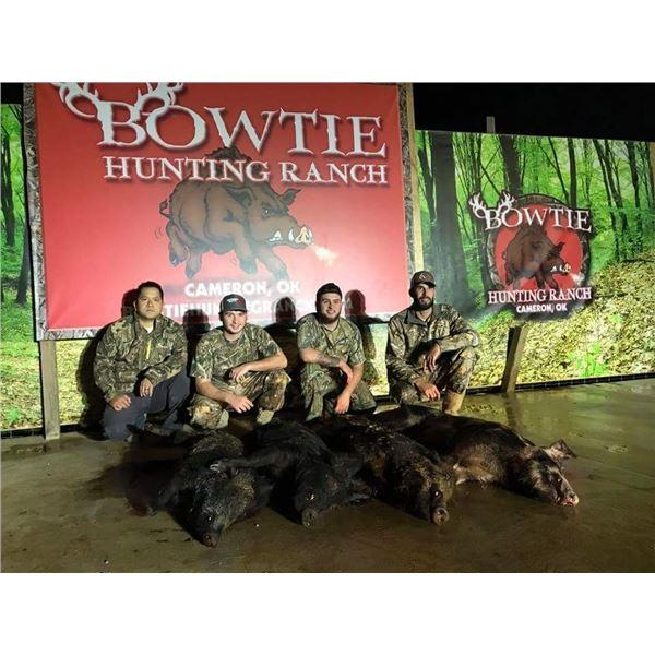 Hog Hunt in Oklahoma