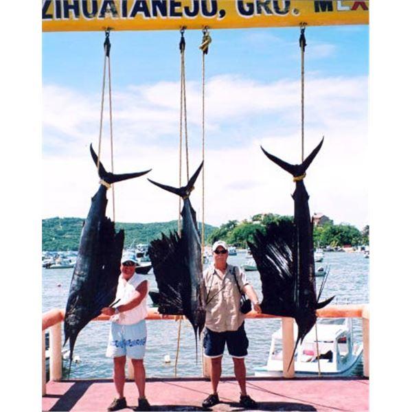 Deep Sea Fishing in Mexico