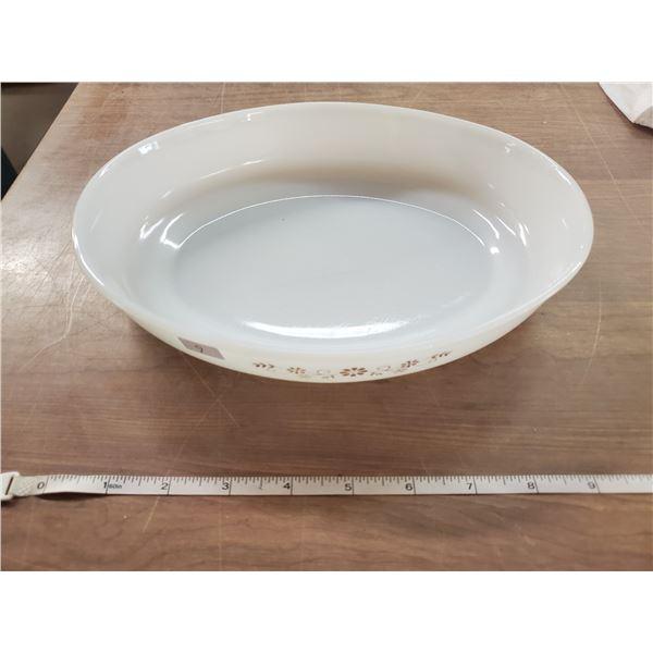 """10"""" oval pyr-o-rex dish"""