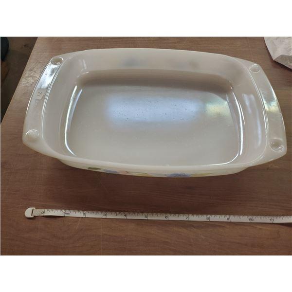 "Arcuisine baking dish 8.5"" handle to handle 2"" tall"