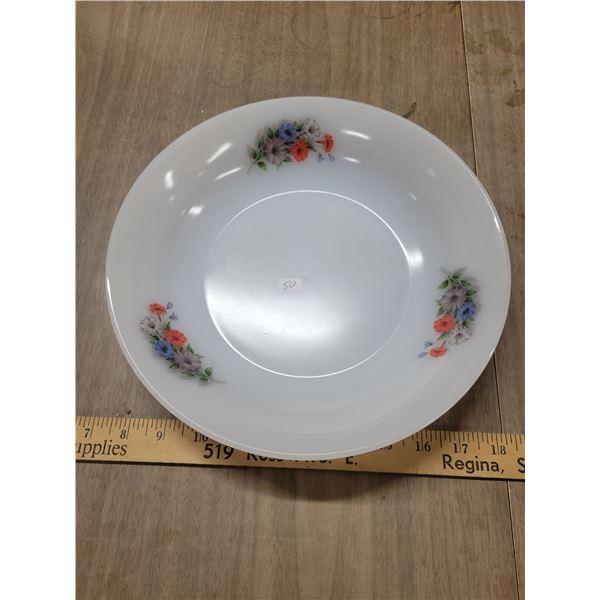 Arcopol France vintage floral bowl