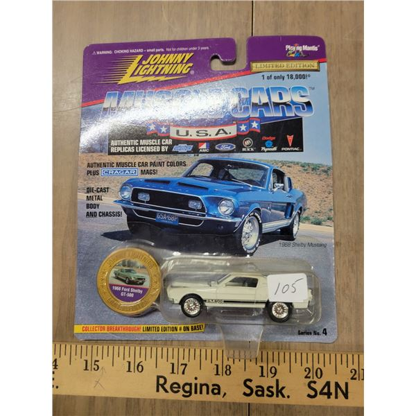 Johnny Lightning Ford Shelby 1 of 18000 limited edition