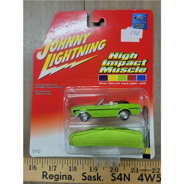 Johnny Lightning 1971 Mustang convertible