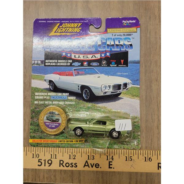 Johnny Lightning 1 of 20000 LE 1968 GT500