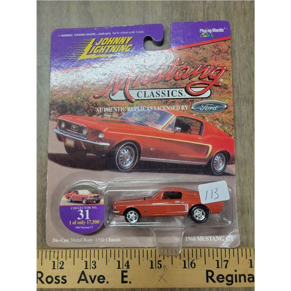 Johnny Lightning 1 of 17500 '68 Mustang GT
