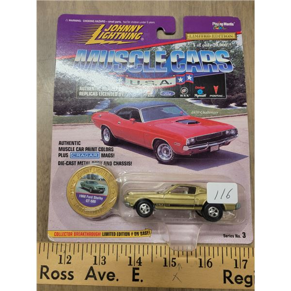 Johnny Lightning 1 of 20000 LE 1968 Ford Shelby GT 500