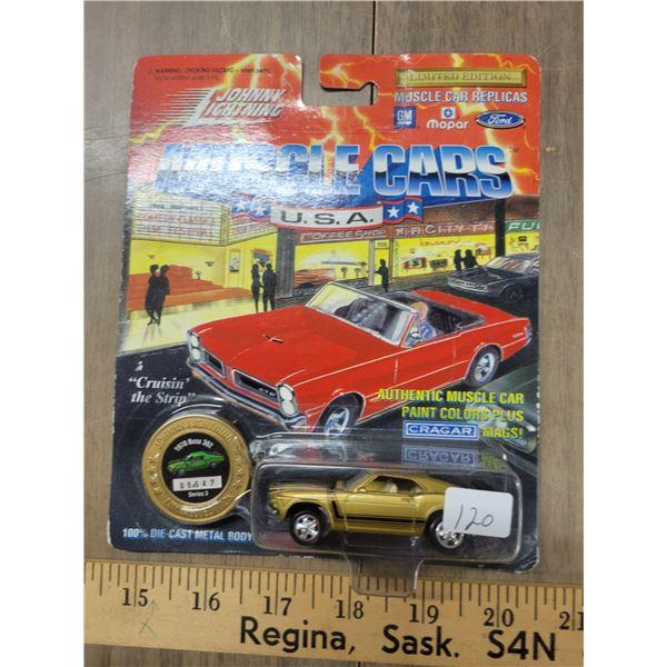 Johnny Lightning limited edition 1970 Boss 302