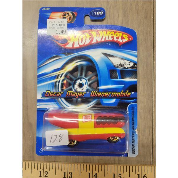 Hot Wheels Oscar Mayer wiener mobile