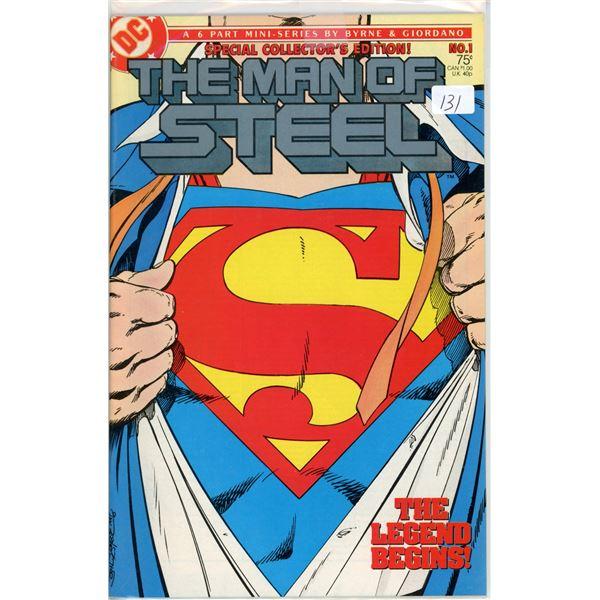1980's Man Of Steel mini series 1 of 6