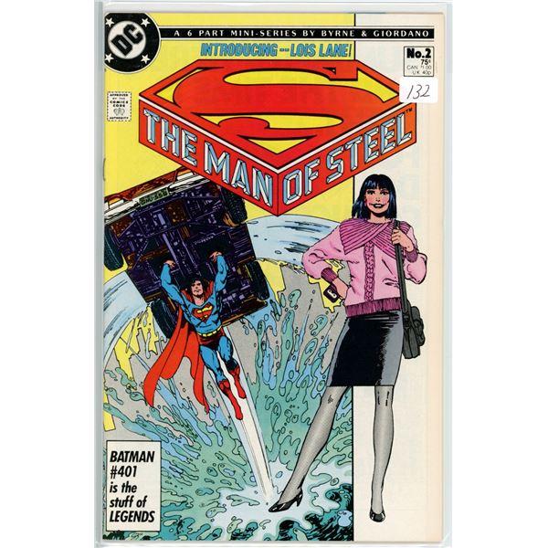 1980's Man Of Steel mini series 2 of 6