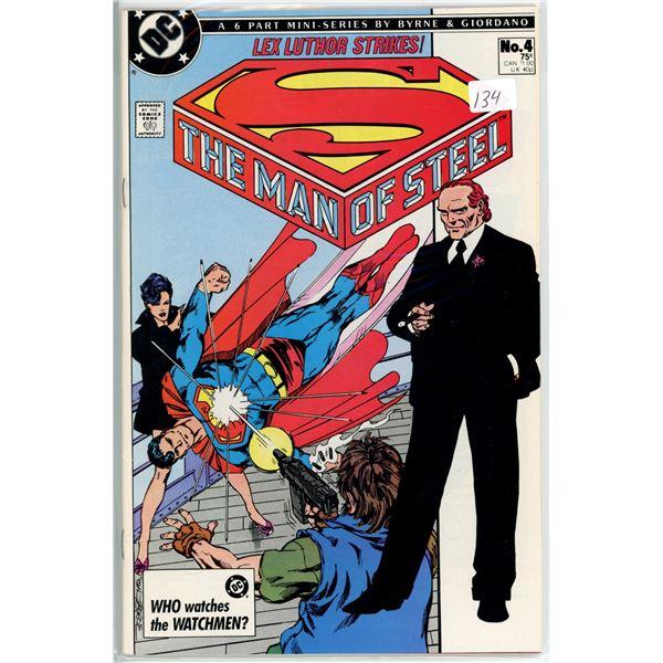 1980's Man Of Steel mini series 4 of 6