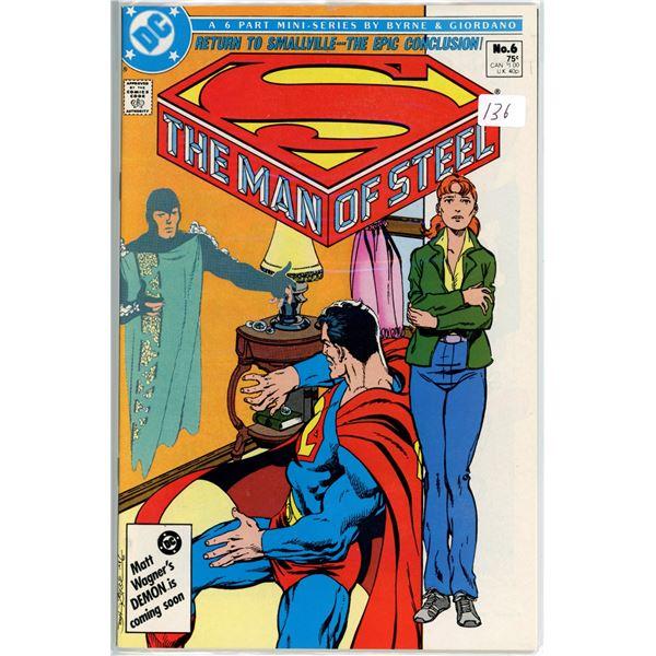 1980's Man Of Steel mini series 6 of 6