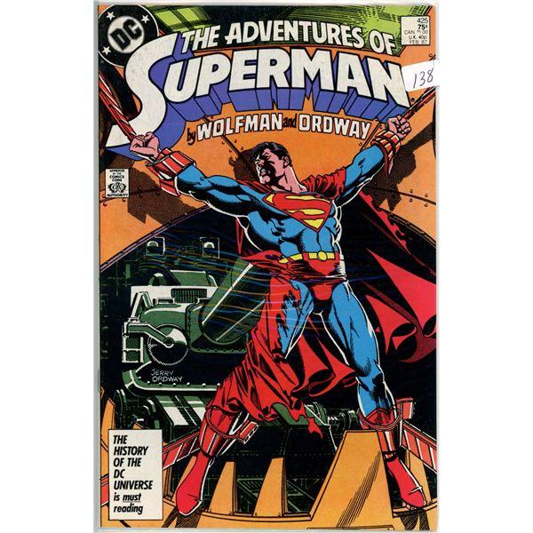 Feb. '87 The Adventures of Superman