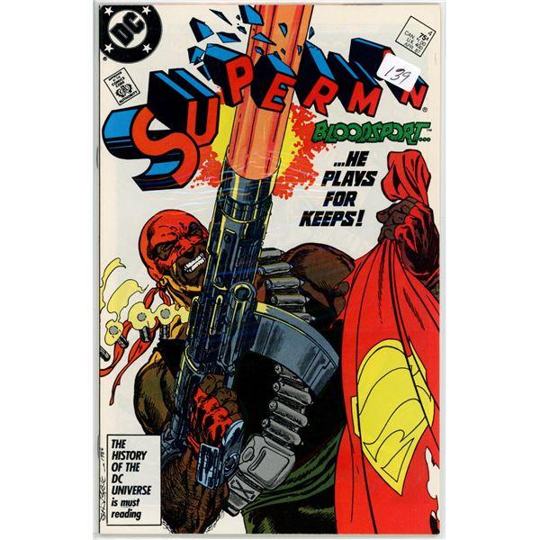 Apr. '87 Superman - Bloodsport