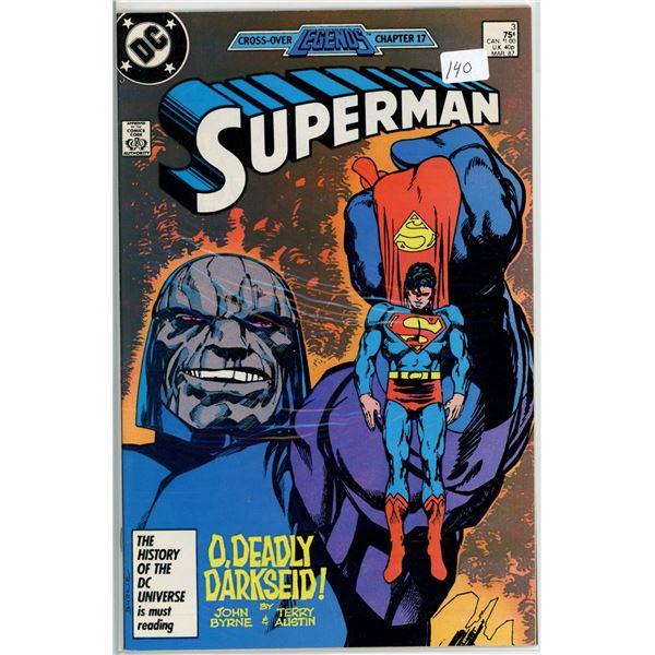 Mar. '87 Superman - O' Deadly Darkseid