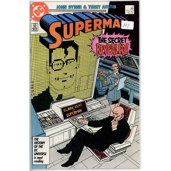 Feb '87 Superman - The Secret Revealed