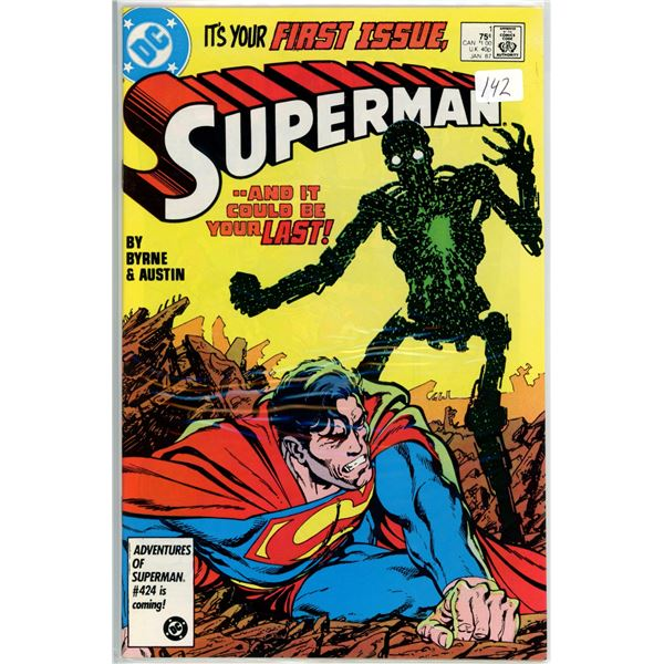 June '87 Superman - And it would be your last