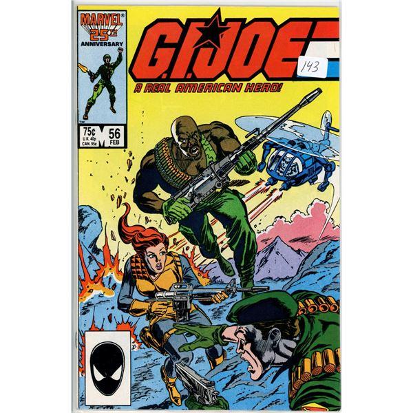 Feb. '87 G.I. Joe - A real American Hero