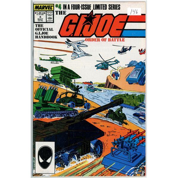 May '87 G.I. Joe - Order of Battle