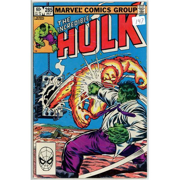 July '83 The Incredible Hulk