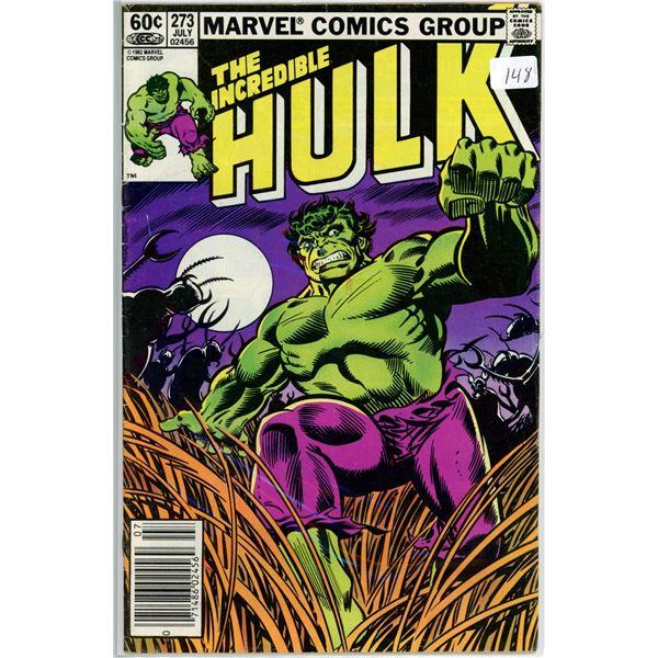July '82 The Incredible Hulk