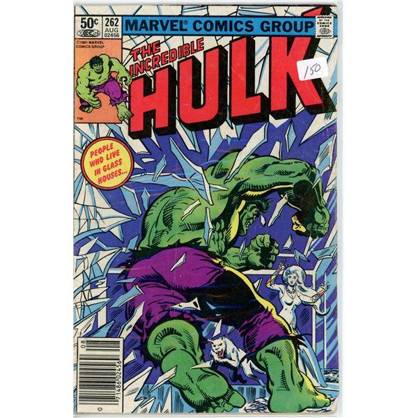 Aug. '81  The Incredible Hulk