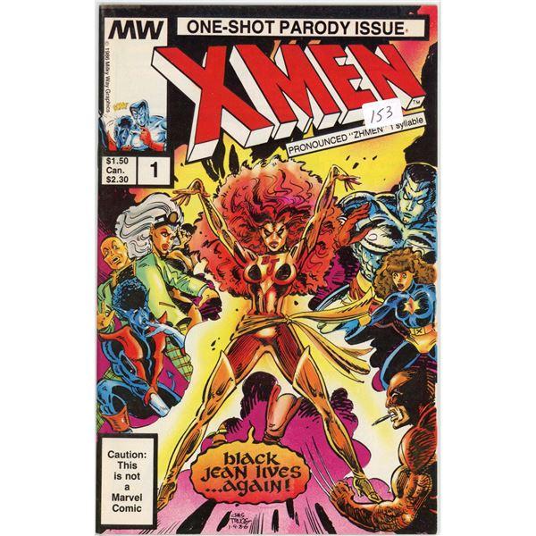 1986 One-Shot Parody issue X-Men