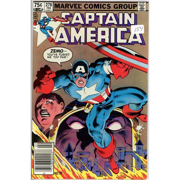 Feb. '83 Captain America