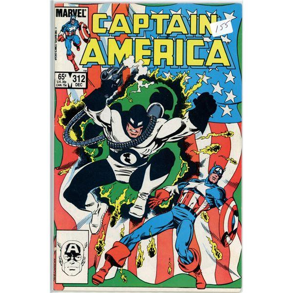 Dec. '85 Captain America