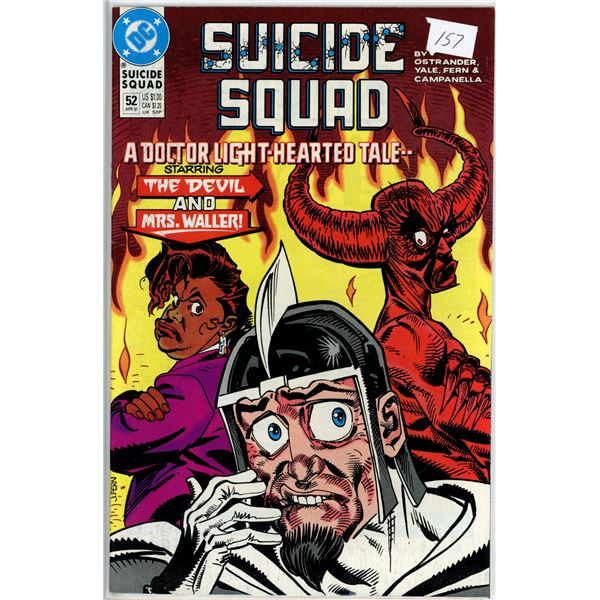 Apr. '91 Suicide Squad 'A doctor Light-Hearted tale'
