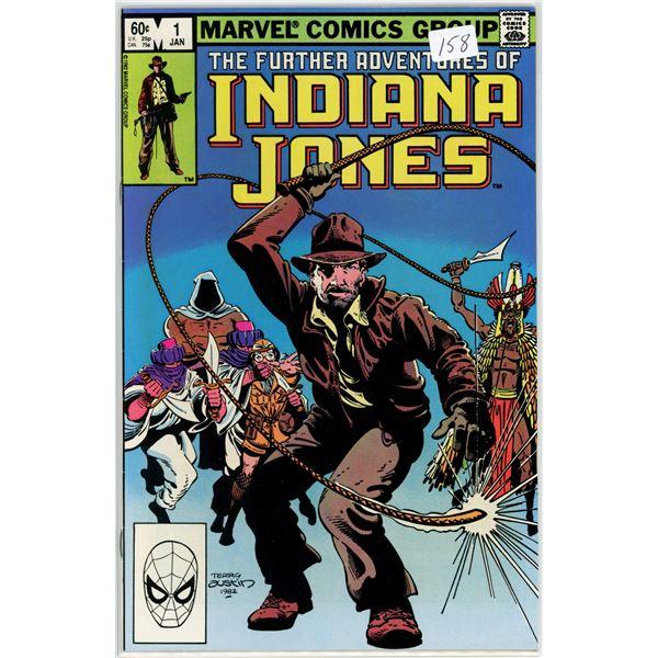 Jan. '82 The Future Adventures of Indiana Jones