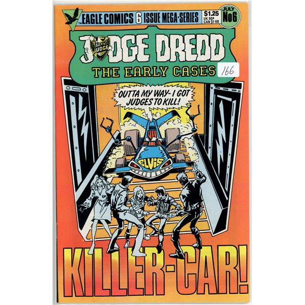 1980's Judge Dread - The Early cases