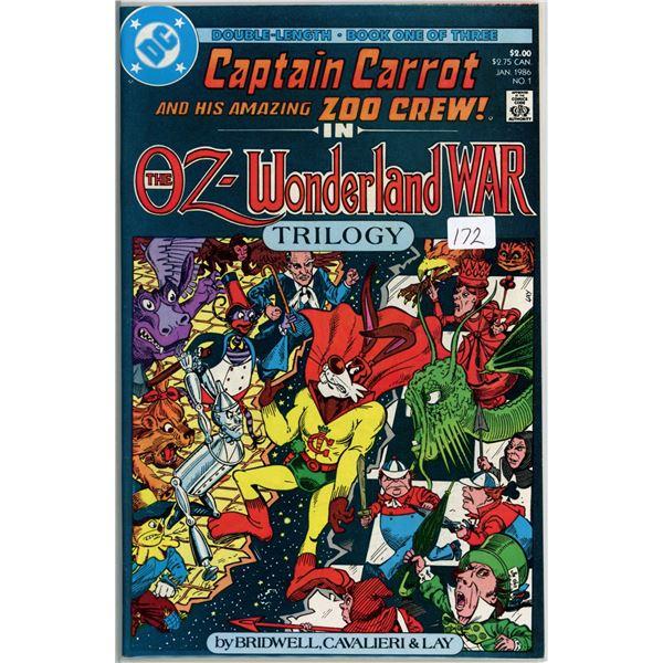 Jan. '86 Captain Carrot - The Oz Wonderland War 1 of 3
