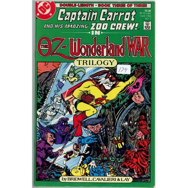 Jan. '86 Captain Carrot - The Oz Wonderland War 3 of 3