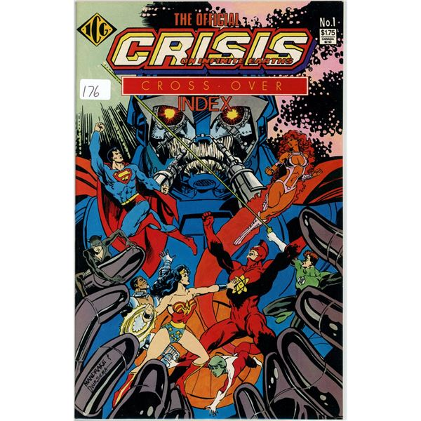 1980's The Official Crisis of Infinate Earths Cross-over